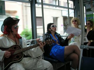 Elvis in town