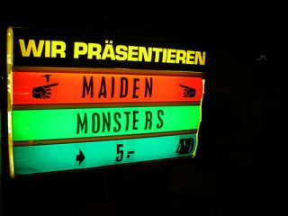 maidenmonstersschild